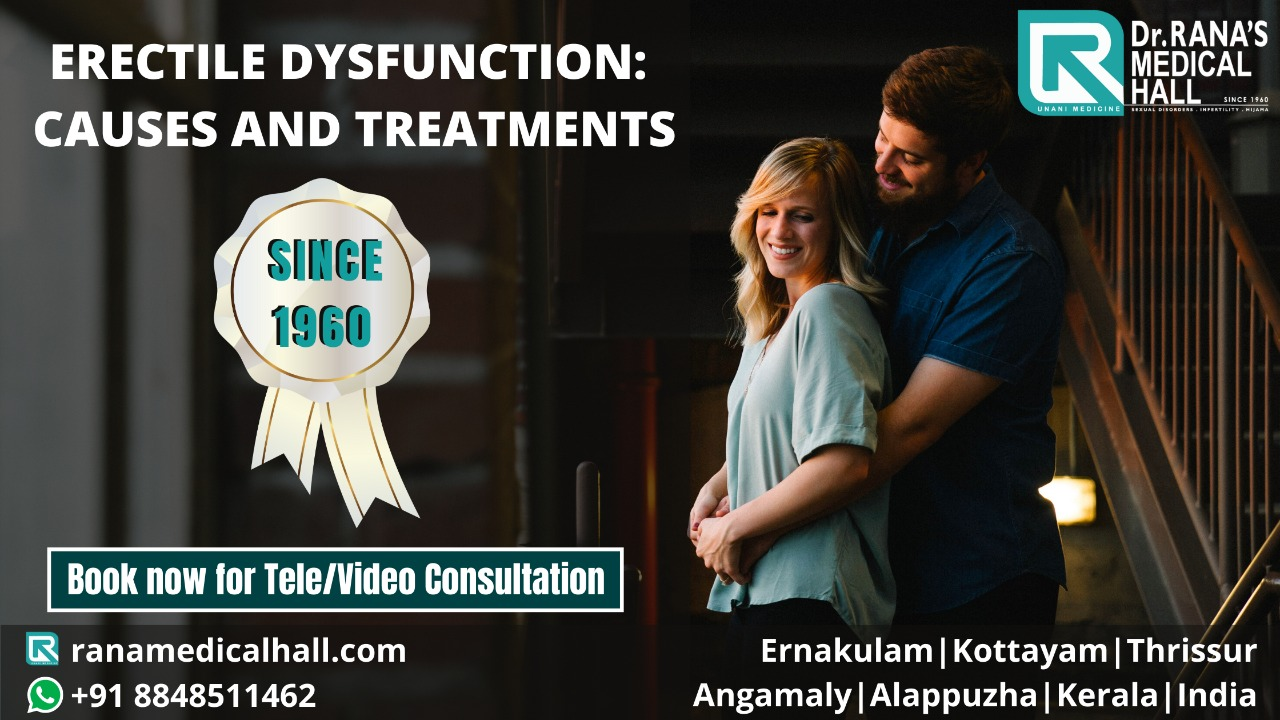 Erectile Dysfunction Causes and Treatments